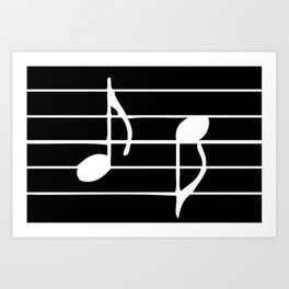 Music Sheet Art Print