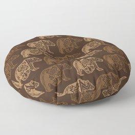 Bear Spirit Floor Pillow