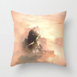 Sky diver Throw Pillow
