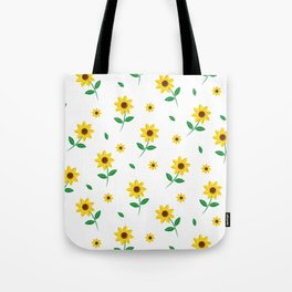 Tiny Sunflowers Tote Bag