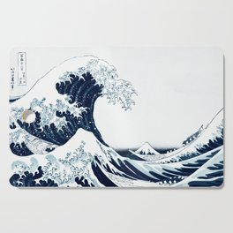 The Great Wave - Halftone Cutting Board