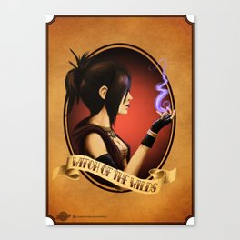 Witch of the Wilds Canvas Print