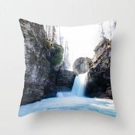 Saint Mary's Falls Throw Pillow