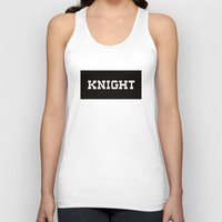 knight Tank Tops featuring KNIGHT by Vancouver Neighbourhoods Project