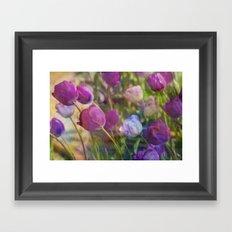 Lavender Flora  Framed Art Print