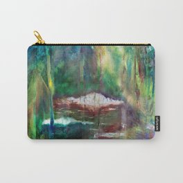 Gurgling Brooks by Nadia J Art Carry-All Pouch