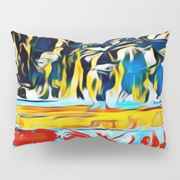 Mountain of Many Faces Pillow Sham