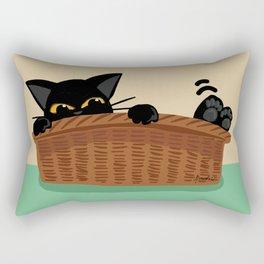 Love here Rectangular Pillow