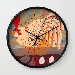 Bok Bok Bok! Wall Clock