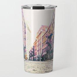 Stone Street - Financial District - New York City Travel Mug