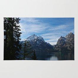 Jenny Lake/Tetons Rug