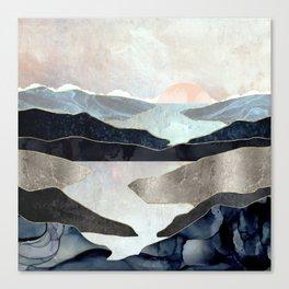 Blue Mountain Lake Canvas Print