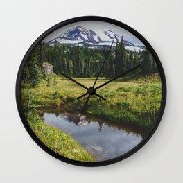 Mt Adams & Killen Creek - Pacific Crest Trail, Washington Wall Clock