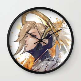 i will watch over you Wall Clock