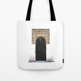 Alhambra Door Tote Bag