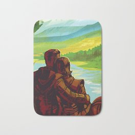 Earth - Your Oasis in Space Bath Mat