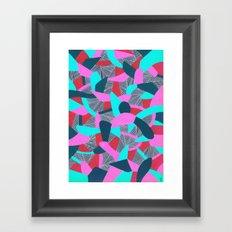 - lizard house - Framed Art Print