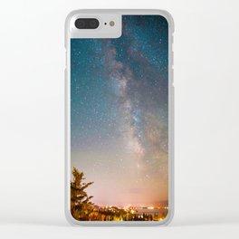 Tahoe Milky Way Colorpop Clear iPhone Case