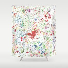 Flowers galore pattern Shower Curtain
