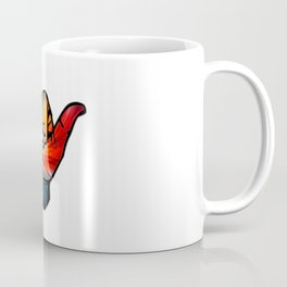 Shaka Rainbow Coffee Mug