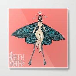 The Queen Moth Metal Print