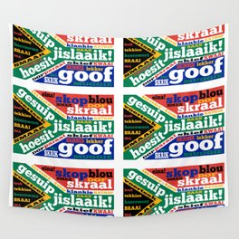 South African slang and colloquialisms Wall Tapestry