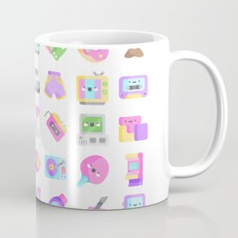 CUTE '80S PATTERN (RETRO THROWBACK EIGHTIES) Coffee Mug