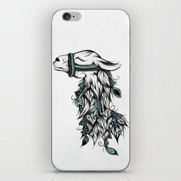 Poetic Llama iPhone Skin