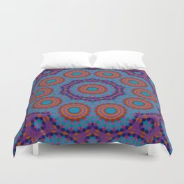 Mosaic Mandala Duvet Cover
