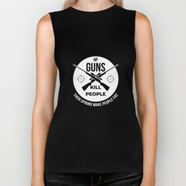 Hunting Hunter Hunting Papa Rifle Forest Biker Tank