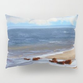 On A Clear Day - Painterly Pillow Sham