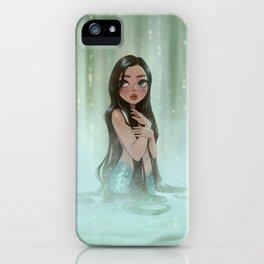 Waterfall Mermaid iPhone Case
