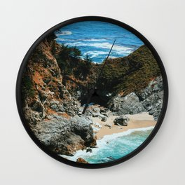 Paradise beach 4 Wall Clock