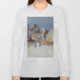 """The Happy Princess"" Fairy Art by Charles Robinson Long Sleeve T-shirt"