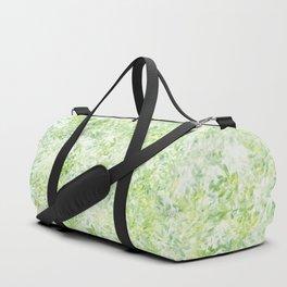 Green and Yellow Foliage Duffle Bag