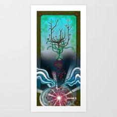 Abiogenesis Art Print