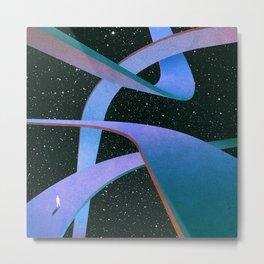 Cosmic Geometry 4 Metal Print