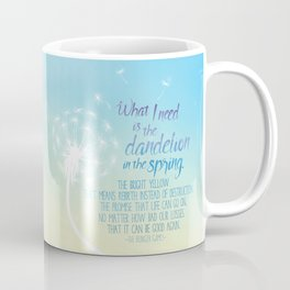 A Dandelion in the Spring Coffee Mug