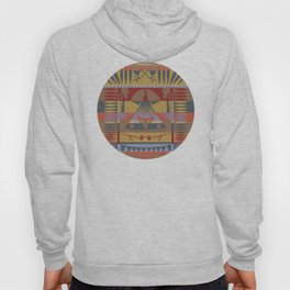 American Native Pattern No. 73 Hoody