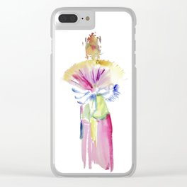Fan Dancer Clear iPhone Case