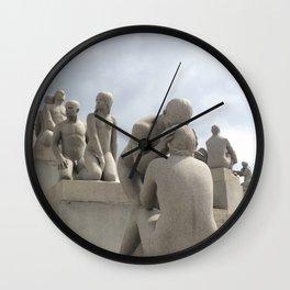 Vigeland Park Wall Clock