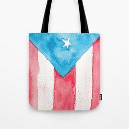 Puerto Rico Watercolour Tote Bag