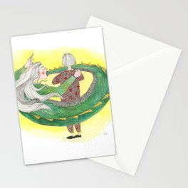 The Golden Glow of The Self-absorbed Stationery Cards