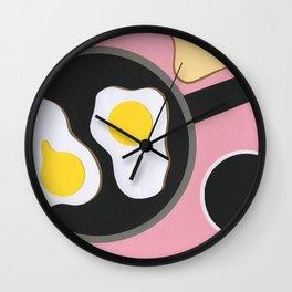 Mr. D'z Breakfast Wall Clock
