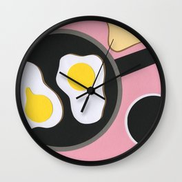 Mr. D'z Breakfast Wall Clock