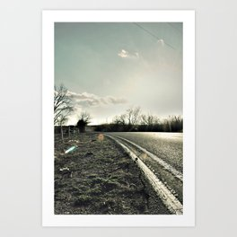 Road to Cele Art Print