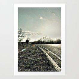 Road to Cele Art Print