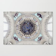 Spanish Ceiling Canvas Print