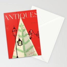 The Magazine ANTIQUES December 1954 cover Stationery Cards