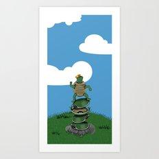 Yertle The Turtle Art Print